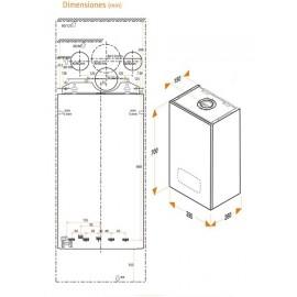 Caldera Micraplus Condens 25 Gas Natural Hermann