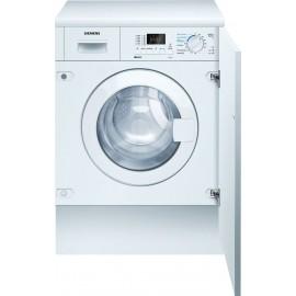 Lavadora -secadora Integrable carga frontal 7 kg Blanco WK12D321EE Siemens