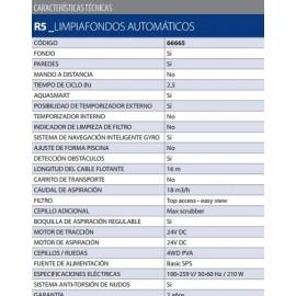 Limpiafondos automático R5 Astralpool