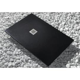Plato de ducha de resina Modelo Strato 160 x 70 Negro Cabel
