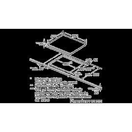 Placa vitrocerámica 60cm de ancho Bisel delantero 3EB715LR Balay