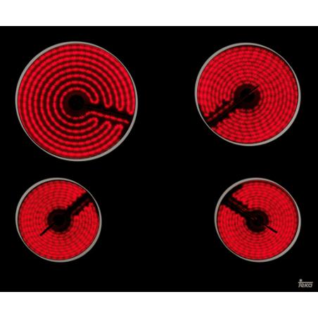 Placa vitrocerámica TT 6415 Teka