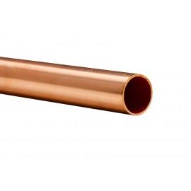 Tubo cobre rígido 28X1