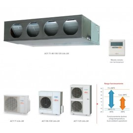 Aire acondicionado por conductos ACY125 UIA-LM Fujitsu