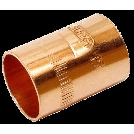 Manguito H-H  d.15 cobre