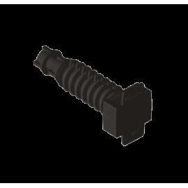 Taco presión .8mm negro Unex