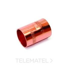 Manguito H-H 5270  d.22 cobre C0270022 Standard Comap