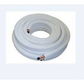Rollo tubo cobre forrado 1/4+5/8 20 mts.  KME