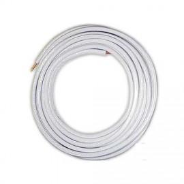 Rollo tubo cobre forrado 1/4  25 mts 56805 KME