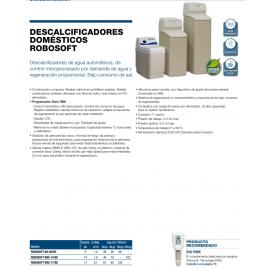 Descalcificador Robosoft RBS 14/ED 14l 301501 ATH