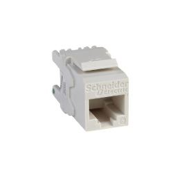 Conector para cable Cat 6 UTP CAT6WT Schneider Electric