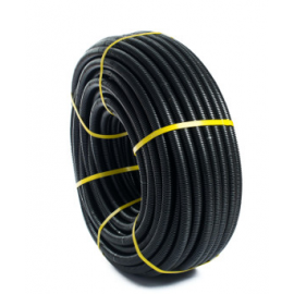 Tubo corrugado d. 16 Negro 070500016 Tupersa