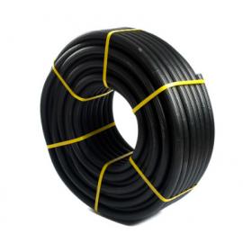 Tubo corrugado forrado d. 16 Negro 080500016 Tupersa
