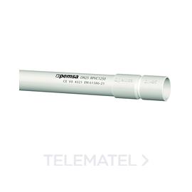 Tubo rígido de plástico RLH1250 libre de halógenos d. 20 13050120 Pemsa