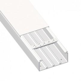 Canaleta S. 72-73 PVC 40x60 Blanco nieve 73071-2 Unex
