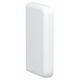 Tapa final Fluidquint Blanco  40x70 611263 Legrand