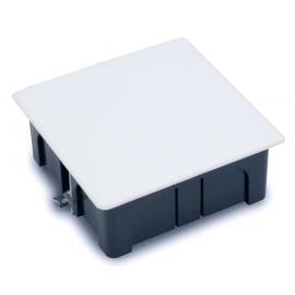 Caja empalme cuadrada para pared hueca  100x100 Fij. garra 3251 Famatel