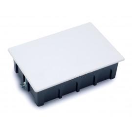 Caja empalme rectangular para pared hueca 200x130 Fij. garra 3253 Famatel