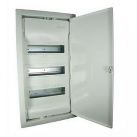 Caja empotrar 3Fila 36+6Mod. Pta. Aisl. RAL9010 001513 Legrand