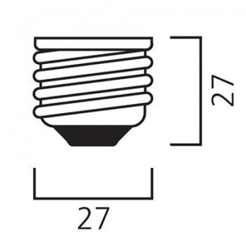 Lámpara S. Toledo Ball E27 0026948 Sylvania
