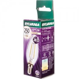 Lámpara S. Toledo Retro Candle  E14 0027180 Sylvania