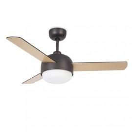 ventilador de echo con luz Klar Leds C4