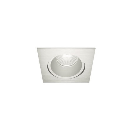 Downlight cuadrado Led empotrable S. Inox. S GU10 Blanco Nexia
