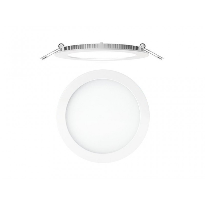 Downlight circular Led superf. empotrable S. Led Nuva Blanco 1700011883 Secom