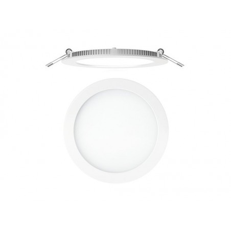 Downlight circular Led empotrable S. Led Nuva Blanco Secom