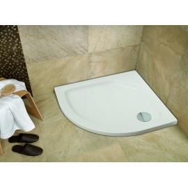 Plato de ducha acrilico Modelo practic 100 x 100 Semicircular