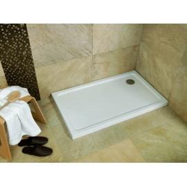 Plato de ducha acrilico Modelo practic 100 x 80 Cuadrado