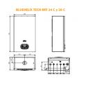 Caldera S. BlueHelix Tech RRT 28Kw Gas natural  Ferroli