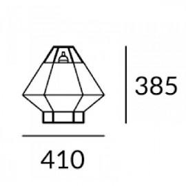 Luminaria sobremesa S. Legato 10-5930-05-20 Leds C4