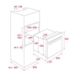 Horno compacto multifunción S. HLC 840 Inox. 41531020 Teka