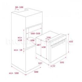 Horno compacto multifunción S. HLC 840 Blanco 41531024 Teka