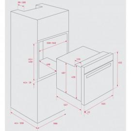 Horno compacto multifunción S. HSC 635 Inox. 41531030 Teka