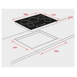 Placa inducción IR 9530 10210163 Teka