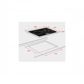 Placa inducción IR 8430 10210164 Teka