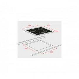 Placa vitrocerámica TT 6420 40239021 Teka