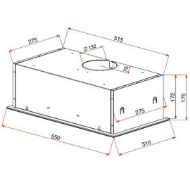 Campana filtrante GFH 55 Inox.  40446700 Teka