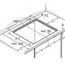 Placa de inducción 60cm 3EB865FR Balay