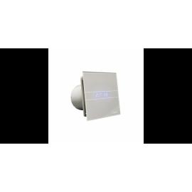 Extractor de baño Digital Glass Silver Cata