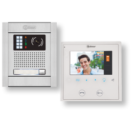 Kit videoortero electrónico en color de 1 línea N5110/VESTA2 11500239B Golmar
