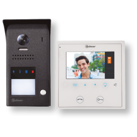Kit videoortero electrónico en color de 1 línea J5110/VESTA2 11500241 Golmar