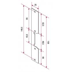Abrepuertas eléctrico CV-14/AC 20600140