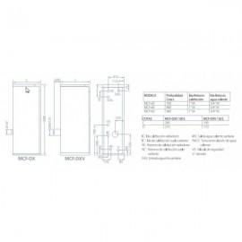 Caldera Mixta Gasoil MCF-30 HDX Plus H TMCX000103 Domusa Teknik