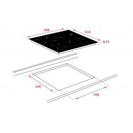 Placa inducción IZ 6320 10210173  Teka