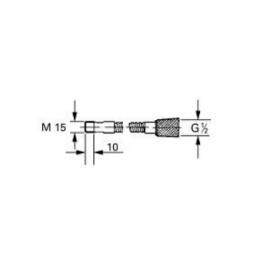 Flexo metálico M 15 x 1/2 46092000 Grohe