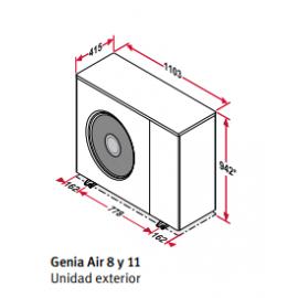 Pack Genia monobloc 0010023074 Saunier Duval