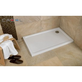 Plato de ducha acrilico Modelo practic 90 x 90  Semcircular